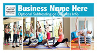 02-ConsumerServices-Exercise-Clubs---Fitness---Yoga-Premium-Postcard-Solo